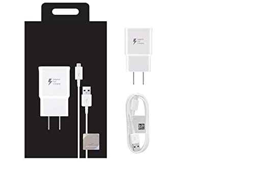 Amazon.com: Fast Rapid Wall Charger 5 Ft Cable for Galaxy S6 ...