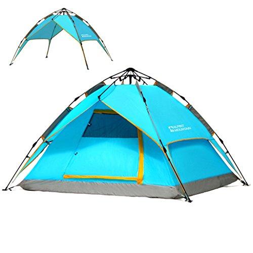 Outdoor Rainproof 3-4 People Tentes Tour de printemps Camping Structures libres Vitesse d'ouverture automatique Tentes Outdoor Camping Portable