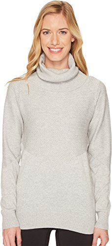 Lole Madeleine Sweater, Light Grey Heather, Medium, - Grey Madeleine