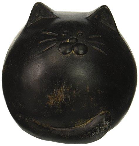 (Abbott Collection 27-BW/060 Blk Antique Black Round Ball Cat)