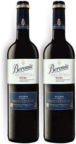Vino tinto Beronia Reserva de 75 cl - D.O. La Rioja - Bodegas ...