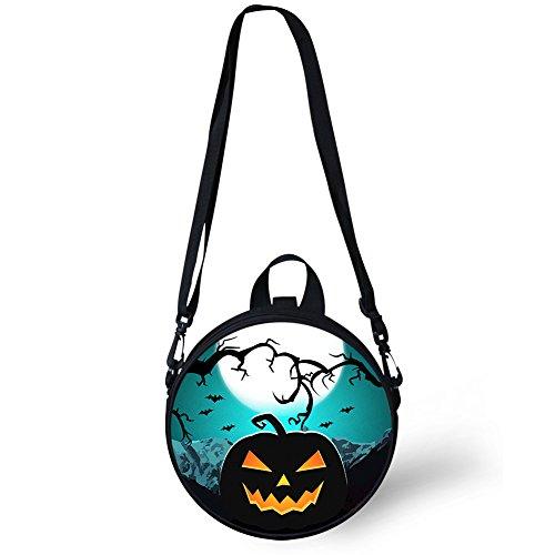 Round Bag Backpack Girls and FancyPrint for W8ccc4024i Shoulder Round Women Print Stylish vtEqxtwaU