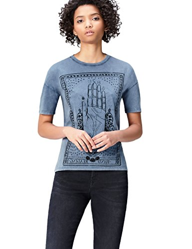 Girocollo T Blu Donna blue shirt Find H6EwBA