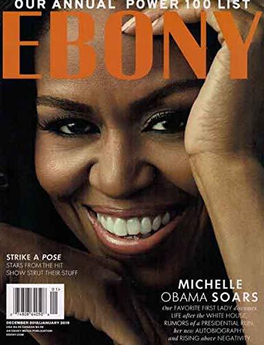 Ebony Magazine (December, 2018-January, 2019) Michelle Obama Cover