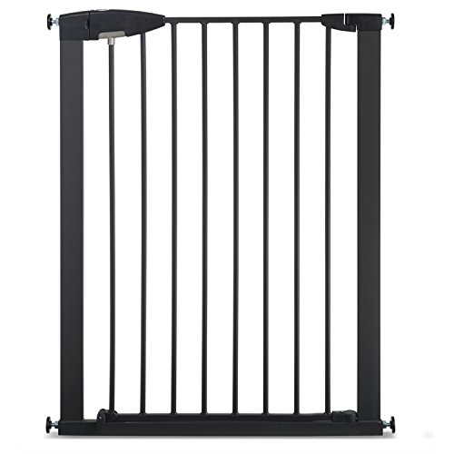 Munchkin Easy Close XL Metal Wide Baby Gate, Dark Grey (Munchkin Gate Door Baby With)