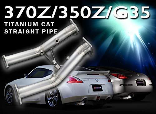 (Tomei Ti Titanium Cat Straight Pipe for Nissan 350Z 03'-06' VQ35DE TB6100-NS04A)