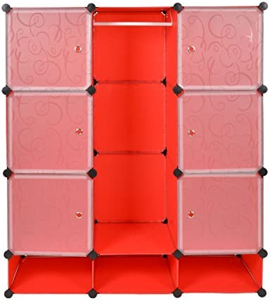 ts-ideen Armario para baño Pasillo Zapatero cómoda en Amarillo/Verde con 4 puerstas 93 x 75 cm: Amazon.es: Hogar
