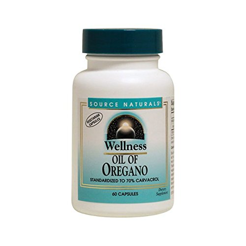 Source Naturals Wellness Oil of Oregano 60 Caps (Oil Source Wellness Naturals)