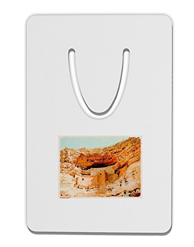 TooLoud Montezuma Castle Watercolor Aluminum Paper Clip Bookmark (Aztec Bookmark)