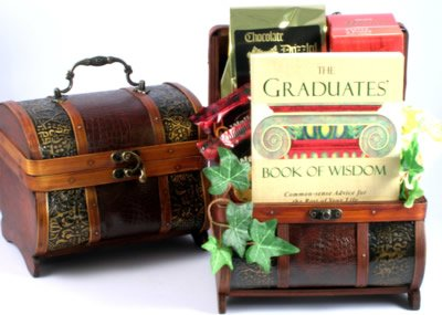 A Graduation Sentiment | Elegant Graduation Gift Basket for the College Graduate
