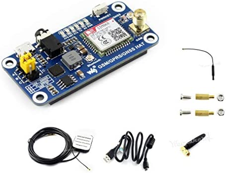 Raspberry Pi GSM/GPRS/GNSS Bluetooth Hat Expansion Board GPS Module SIM868  Compatible with Raspberry Pi 2B 3B 3B+ Zero Zero W Support Make a Call,Send