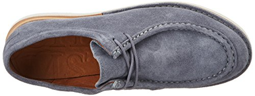 Shabbies Amsterdam Shabbies Schnürhalbschuhe, Scarpe Stringate Donna Blu (Denim)