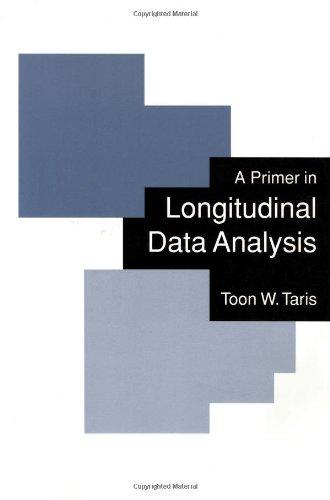 A Primer in Longitudinal Data Analysis