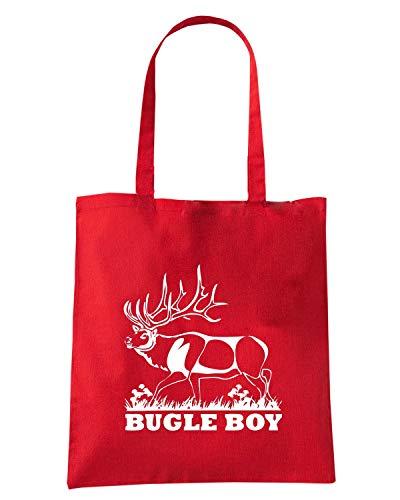 Rossa Shopper Borsa FUN0889 BOY STAG BUGLE TFqg5