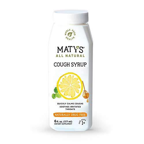 Matys All Natural Cough Syrup 6 fl oz, Made with Immune Boosting Buckwheat Honey