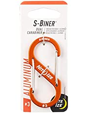 Nite Ize S-Biner Dual Carabiner Aluminum #3-Orange