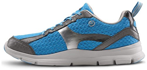 Dr. Comfort Meghan Women's Therapeutic Extra Depth Athletic Shoe: Blue 8 Wide (C-D) Lace by Dr. Comfort (Image #3)