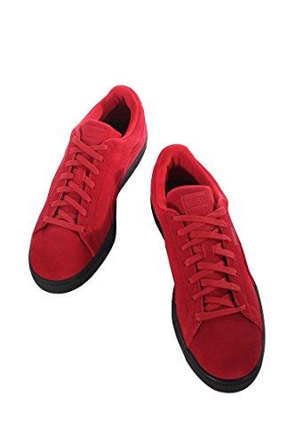 PUMA Adult Wildleder Klassischer Schuh Barbados Kirsche / Puma Schwarz