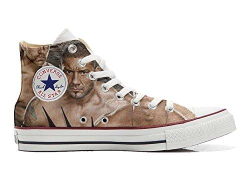 Personnalisé Converse Sneaker produit WWE All Unisex Star Hi coutume Italien artisanal chaussures Wrestling et Imprimés 1wERCwq