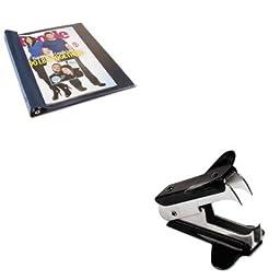KITAVTANG120DUNV00700 - Value Kit - Advantus Vinyl Magazine Binder (AVTANG120D) and Universal Jaw Style Staple Remover (UNV00700)