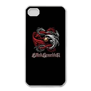 iphone4 4s Phone Case White Blind Guardian ZGC431599