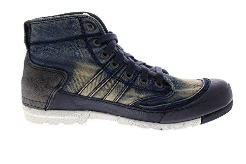 Yellow Cab Herren Mud M Hohe Sneaker Blau (Blue)