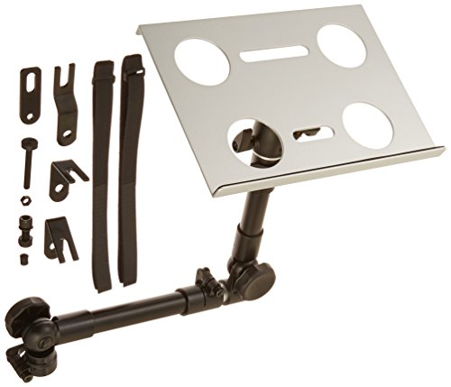 Cotytech  Ball Joint Head Dual Arm Tray Car Holder for iPad/Tablet/Laptops, Silver by Cotytech