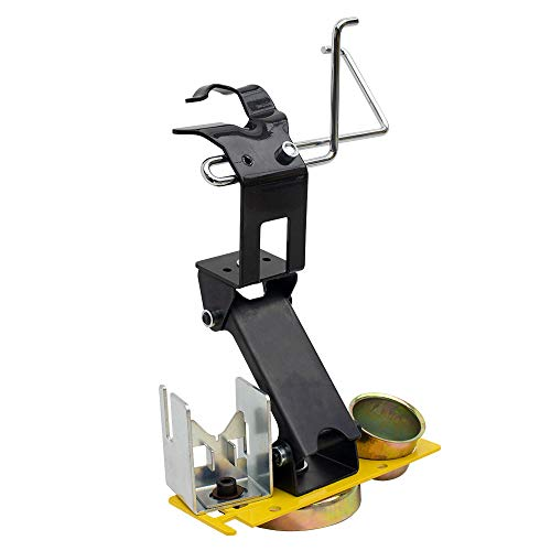 Strong Hand Tools, Mig Torch Rest with Cable Hanger & Accessory Plate (Adjustable Height + Cable Hanger & Accessory Plate)
