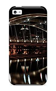 Gaudy Martinezs's Shop New Style Tpu 5c Protective Case Cover/ Iphone Case - Late Night Bridge 2414414K59601286
