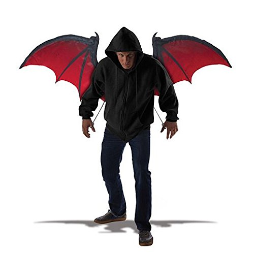 Magic Costume Halloween Adult Bloodnight Wings -