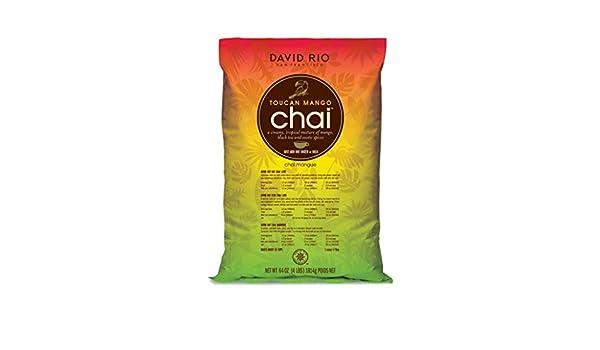 David Rio Food Service - Toucan Mango Chai, 1er Pack (1 x 1.816 kg): Amazon.es: Alimentación y bebidas
