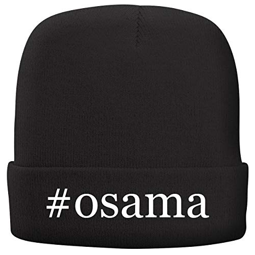 BH Cool Designs #Osama - Adult Comfortable Fleece Lined Beanie, Black