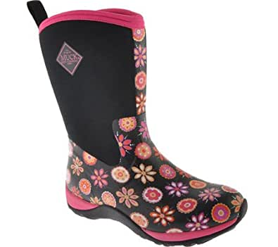Original Amazon.com | The Original MuckBoots Womenu0026#39;s Tack Classic Limited Edition Boot Hot Pink 11 M US ...