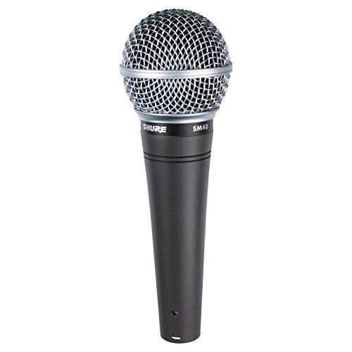 Shure SM48-LC Vocal Dynamic Microphone, ()