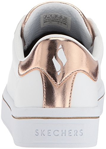 lites Skechers Blanco medal Para Zapatillas Hi Toes Mujer aq5FPw7xq