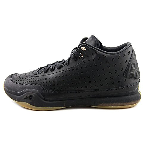 Nike Kobe X Mid Ext, Scarpe da Basket Uomo Black/Metallic Gold