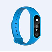 Fitness Tracker, AHATECH Activity Tracker Heart Rate Monitor Fitness Tracker Watch with Sleep monitor Pedometer Calorie Watch for Kids Women Men Call SMS SNS Push for iOS Android Phone Fitness Activity Tracker Band M2 Heart Rate Monitor Smart Watch Fitbit Style intelligence health bracelet