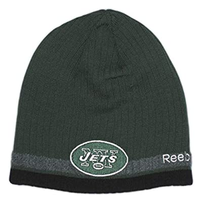 Fan Apparel New York Jets Coaches Sideline Cuffless Knit Beanie Hat
