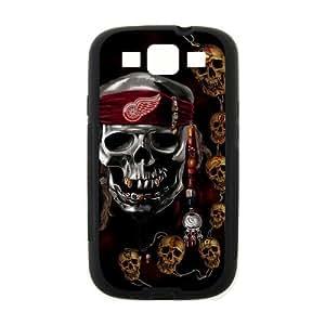 Custom Unique Design NHL Detroit Red Wings Samsung Galaxy S3 Silicone Case