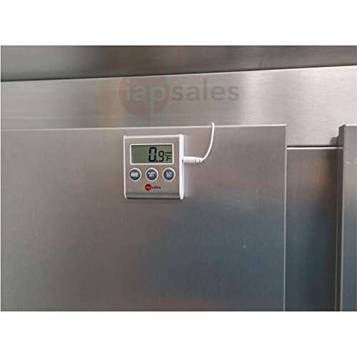 Easy To Read Refrigerator Freezer Thermometer Alarm High