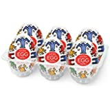 Tenga Keith Haring Egg Dance 6 Pack Onahole - Set of 6