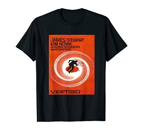 - Vertigo noir thriller vintage movie poster shirt.