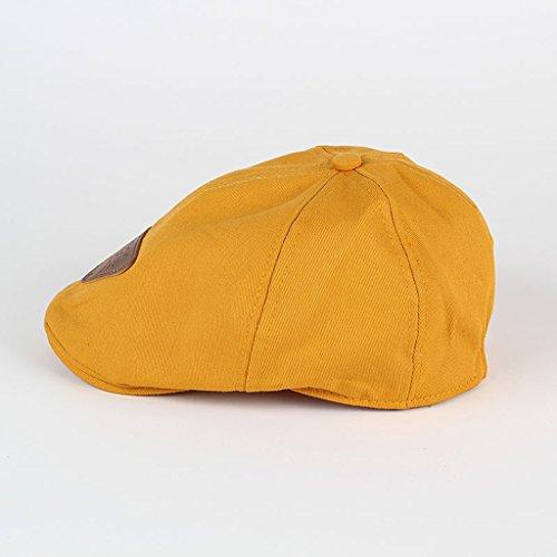 c1a50875892b GUBENM Chapeaux Casquettes,bonnets - Enfants coton Béret unisexe bonnet  chapeau bébé de mode chaud casquettes garçon fille cap enfants casquette de  baseball ...