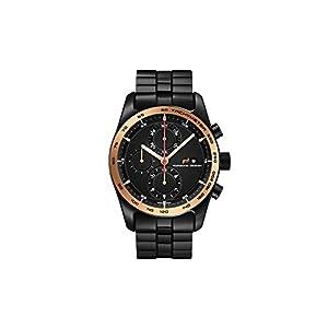 Reloj Automático Porsche Design Chronotimer Series 1, Oro rosa 18Kt, Negro 1