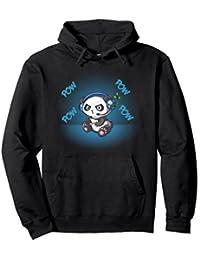 Gamer Panda Hoodie Cute Gaming Panda Hoodie