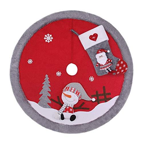 - VIAME Christmas Tree Skirt, 39.4
