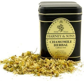 Chamomile Herbal Tea, Loose tea in 1.5 Ounce Tin