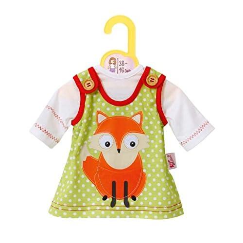 Zapf Creation 870129–Dolly Moda robe avec Renard, 38–46cm