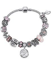 Mestige Bracelet with Swarovski Crystals for Women, MSCB3101