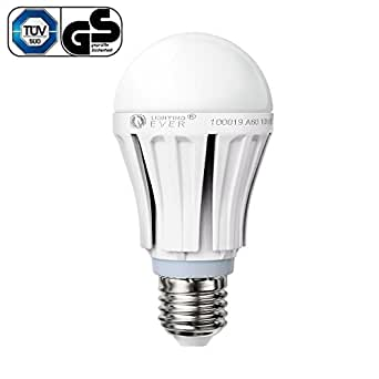 LE® 10W A19 E27 LED Bulbs, 60W Incandescent Bulbs Replacement, 830lm, Samsung chip LED, Daylight White, LED Light Bulbs (1, A)